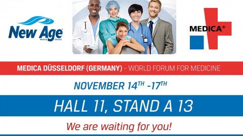 New Age Italia invites you to the World Forum for Medicine MEDICA
